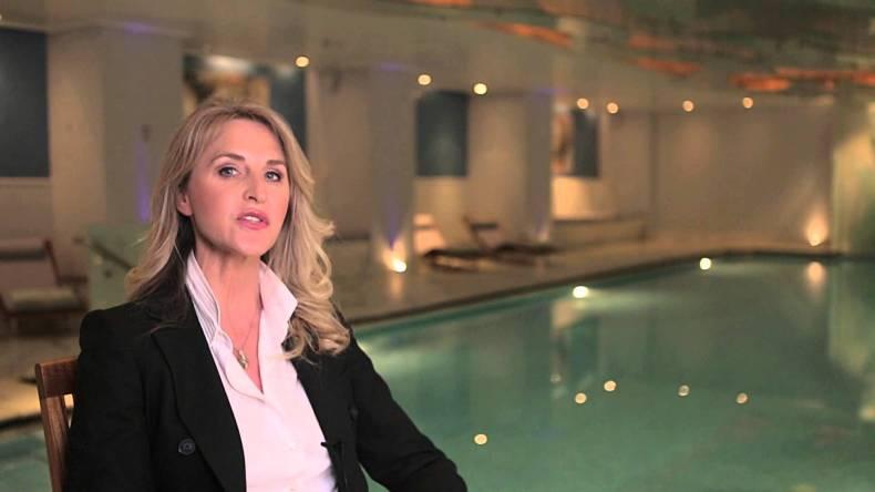 The Grande Bretagne Spa Director, Anne Specque.