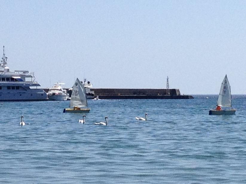 Niborio Chora Andros sailing
