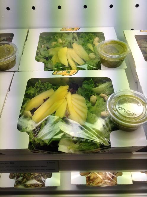Vegan Nation Athens salads