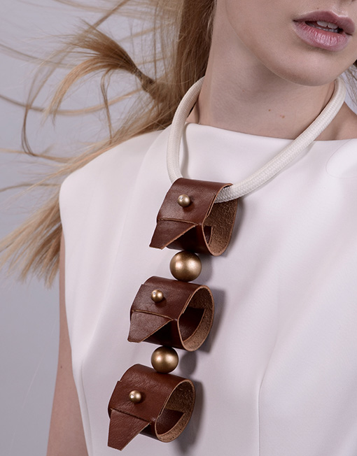 03a-Taba-Triplet-Leather-Handmade-Fashion-Statement-Necklace